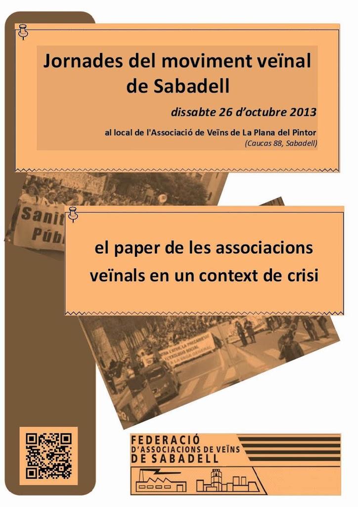 JORNADA MOVIMENT VEÏNAL DE SABADELL