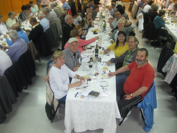 La cena de primavera de las asociaciones vecinales de Sabadell