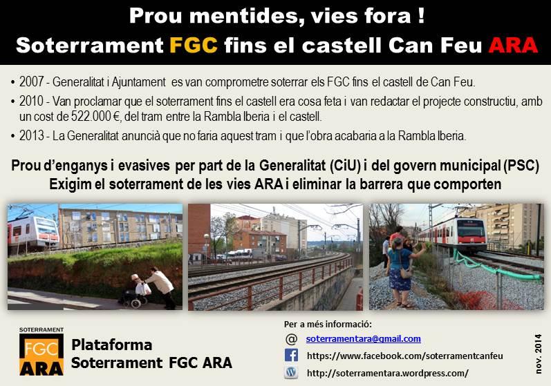 La mobilització a Gràcia contra els enganys de la Generalitat i l'equip de govern de l'Ajuntament