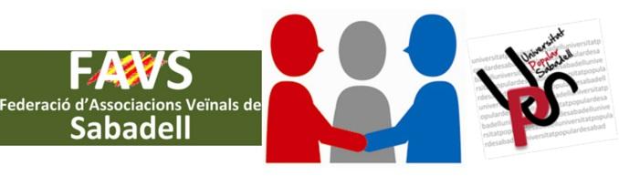 Conveni de Col·laboració entre la FAVS i la Universitat Popular de Sabadell (UPS)
