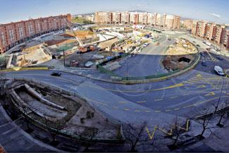 Escrito de diversas asociaciones vecinales sobre la obras de la Plaça d'Espanya