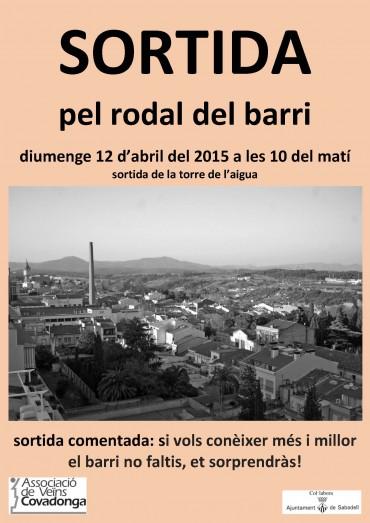 Activitat de l'AV de Covadonga: un passeig pel barri