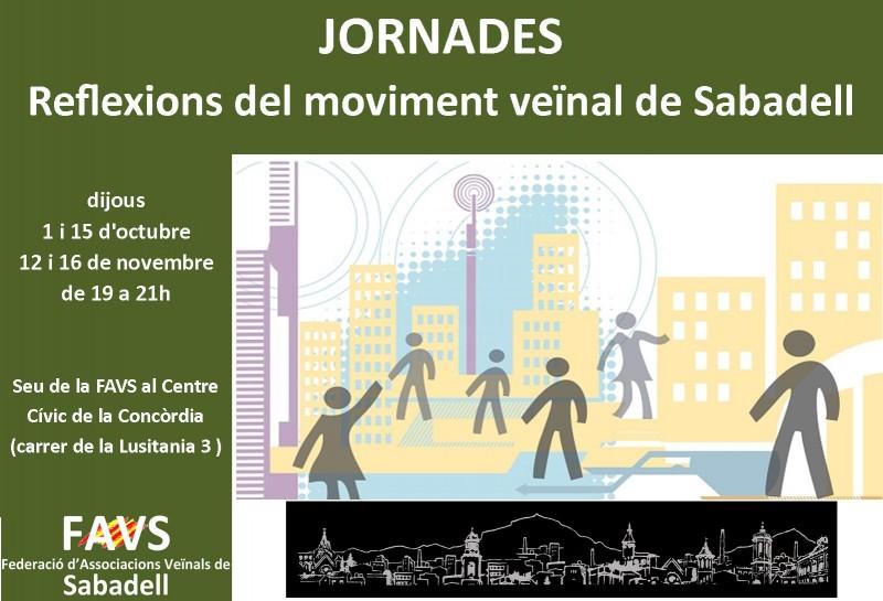 Segona sessió de les Jornades de la FAVS: dijous 15 d'octubre