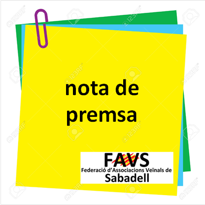 Residència Sabadell Sud: nota de premsa
