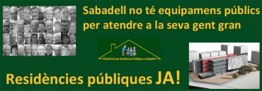 Moció presentada per la Plataforma per la residència Sabadell Sud