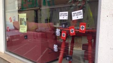 Nota de premsa de la FAVS sobre les pintades feixistes a l'Obrera