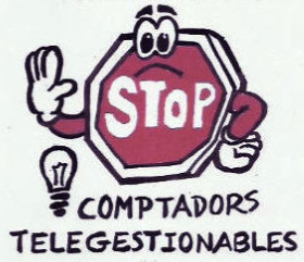 STOP INSTALACIONS CONTADORS ELECTRICS TELEGESTIONABLES