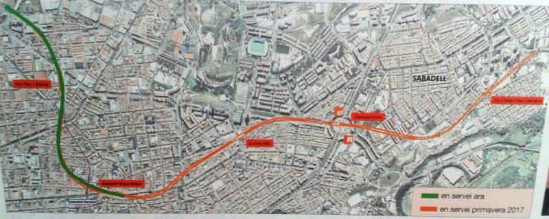"El ""Metro del Vallès"" ja corre per la via nova"