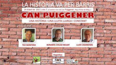 La història va per barris: Can Puiggener