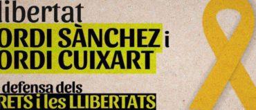 """La FAVSabadell amb la Taula per la Democràcia, convoca a la manifestació clamant la llibertat dels """"Jordis"""""""
