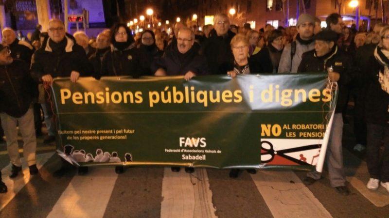 Concentración y manifestación 22-02-18 contra el robo de las pensiones