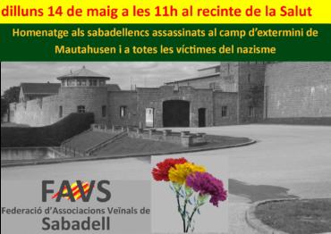 homenatje a les victimes del nazisme