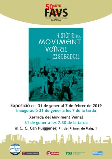 Pam a pam, barri a barri, difonent la història del moviment veïnal de Sabadell: ara, Can Puiggener