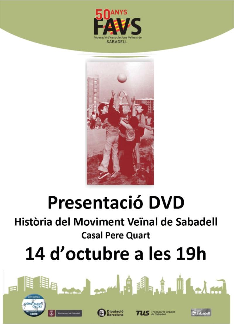 50 anys del Moviment Veïnal a Sabadell