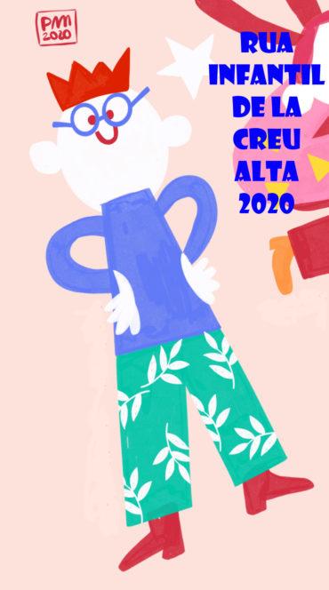 7a Rua Infantil de Carnestoltes de la Creu Alta – 2020